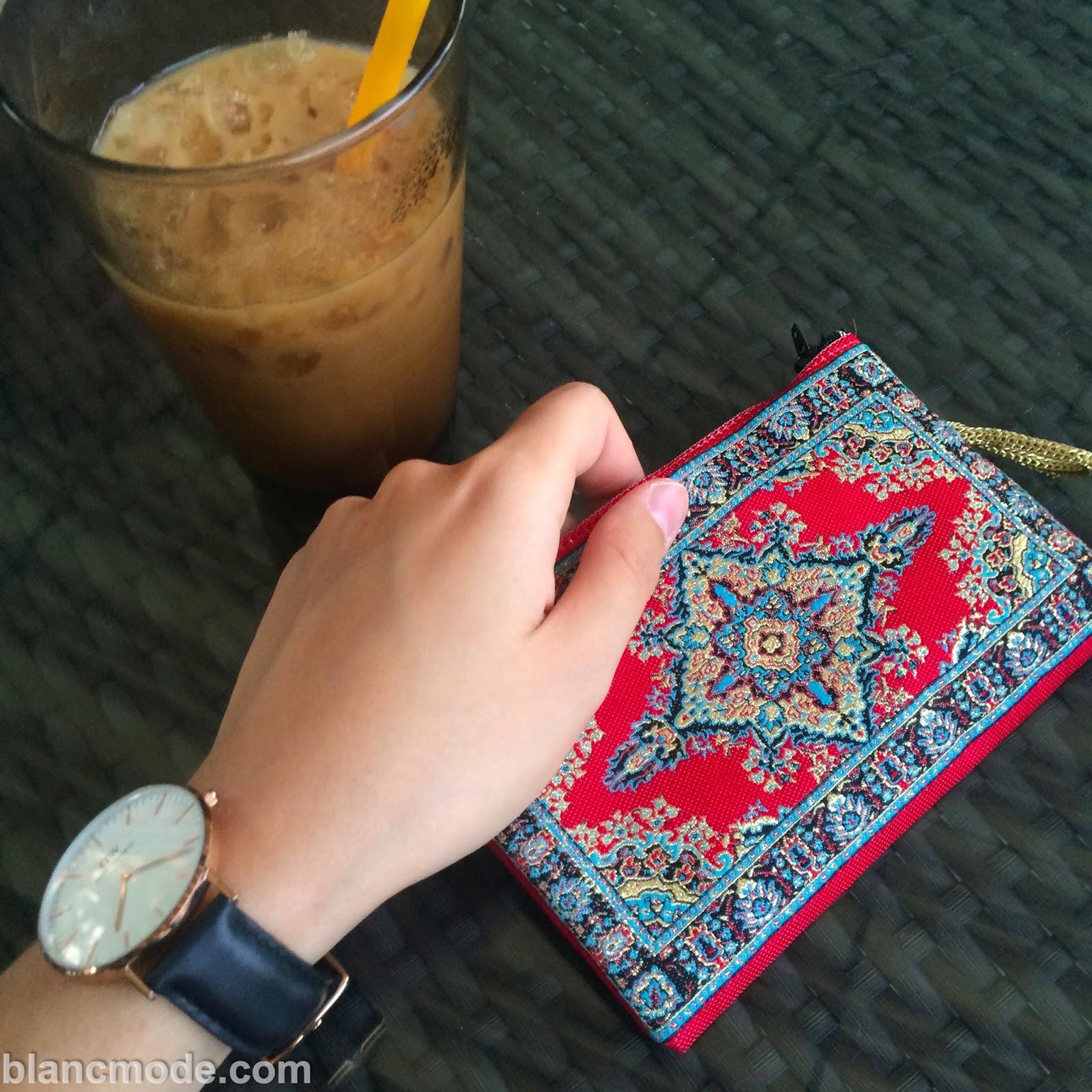 wallet watch coffee