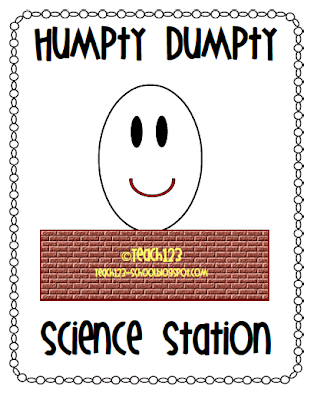 photo of: Humpty Dumpty Nursery Rhyme science Center