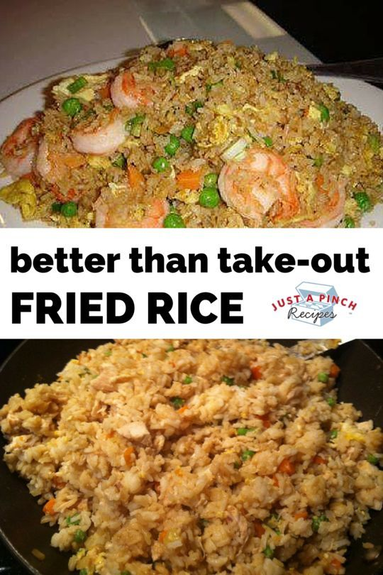 Better Than Take-Out Fried Rice #recipes #dinnerrecipes #dinnerideas #newfoodideas #newfoodideasfordinner #food #foodporn #healthy #yummy #instafood #foodie #delicious #dinner #breakfast #dessert #yum #lunch #vegan #cake #eatclean #homemade #diet #healthyfood #cleaneating #foodstagram