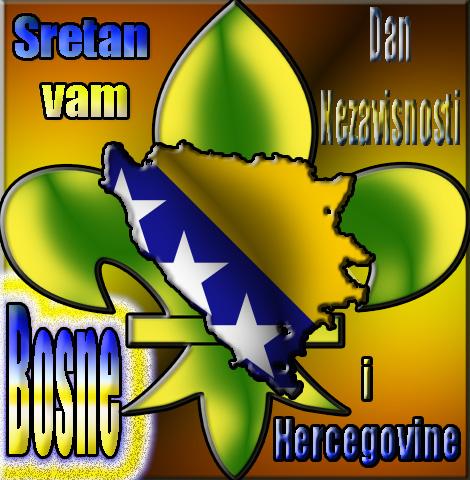 Čestitka za Dan Nezavisnosti Bosne i Hercegovine