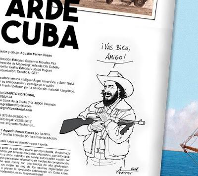 """""""Arde Cuba"""" de Agustín Ferrer Casas."""