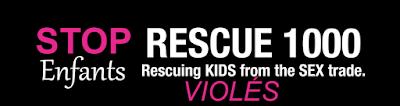 Sauvons 1000 enfants du commerce sexuel et des VIOLS.
