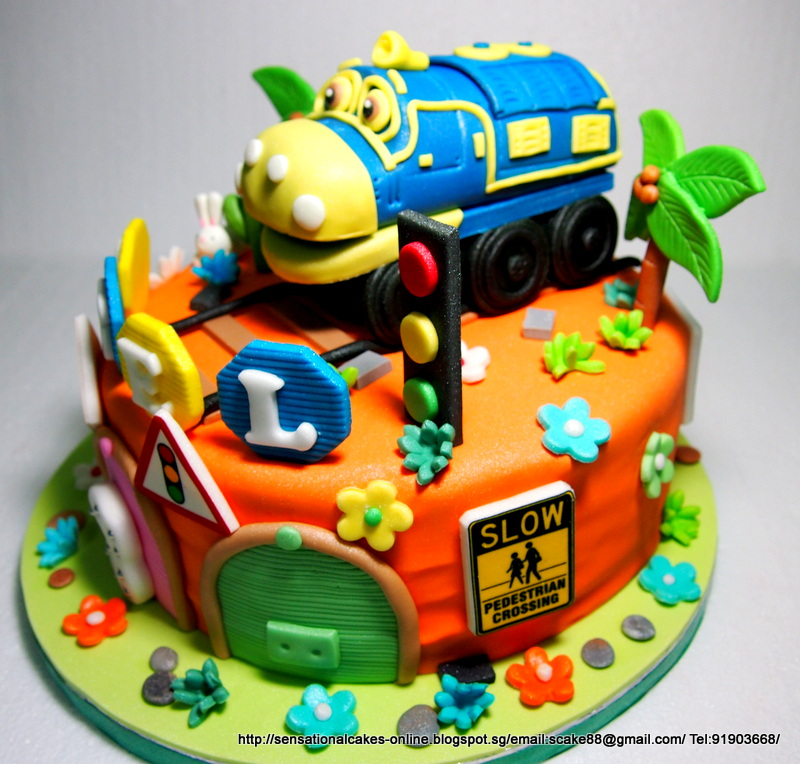 Cakes2Share Singapore CHUGGINGTON BREWSTER CAKE SINGAPORE