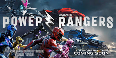 Power Rangers (2017) Movie Banner Poster 2