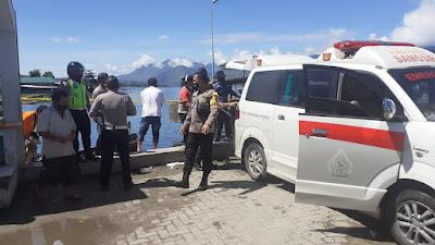 Mayat Mengapung di Dermaga Pangururan Samosir Warga Panampangan