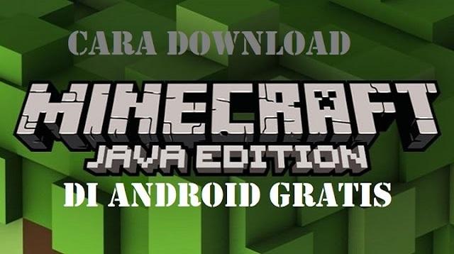 Cara Download Minecraft Java Edition Di Android Gratis