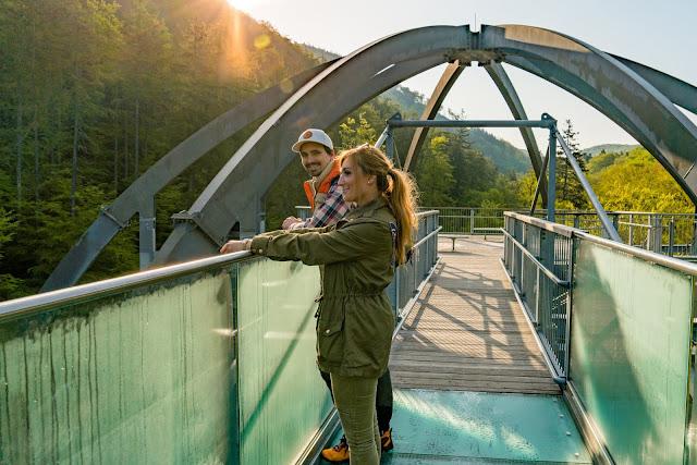 Sonnenaufgang am Baumwipfelpfad-Harz | Wandern in Bad Harzburg Sonnenaufgangswanderung Bad –Harzburg 05