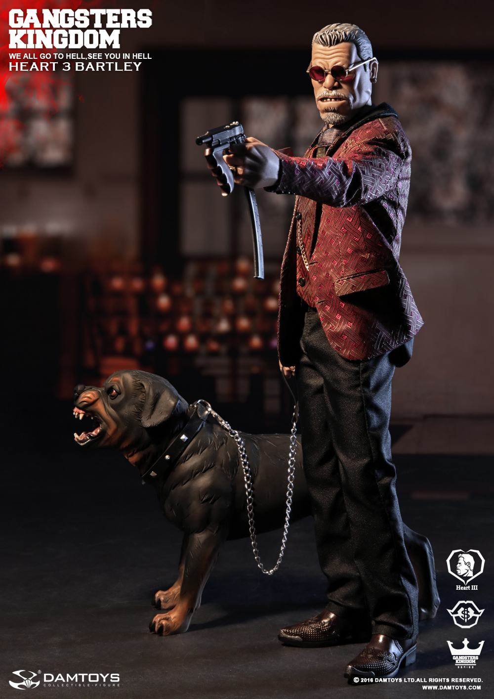 onesixthscalepictures dam toys gangsters kingdom bartley