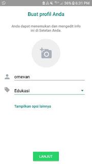 Membuat profile bisnis whatsapp bisnis