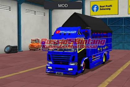 Mod Bussid truck B1Bk4 Terpal Segitiga