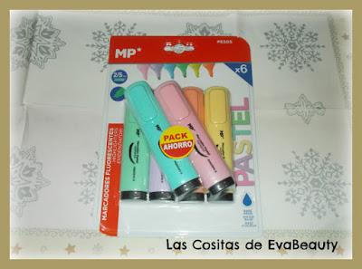 marcadores tono pastel de mp manualidades