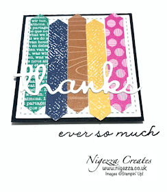 Nigezza Creates with Stampin' Up! Ornate Thanks & 2020 In Colours
