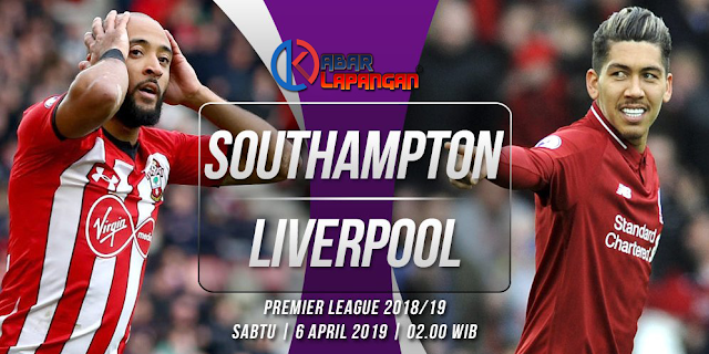 Prediksi Bola Southampton vs Liverpool Liga Inggris