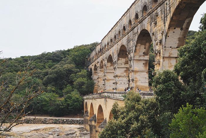 Visiter le Pont du Gard à proximité de Nîmes