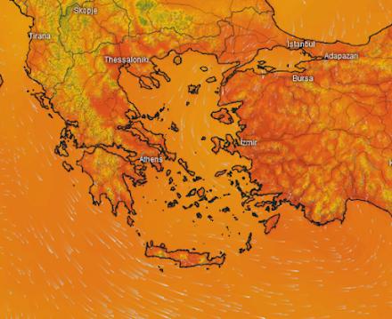 Meteo24news.gr : Τοπικές μπόρες την Τρίτη, εξασθενημένοι άνεμοι στα πελάγη