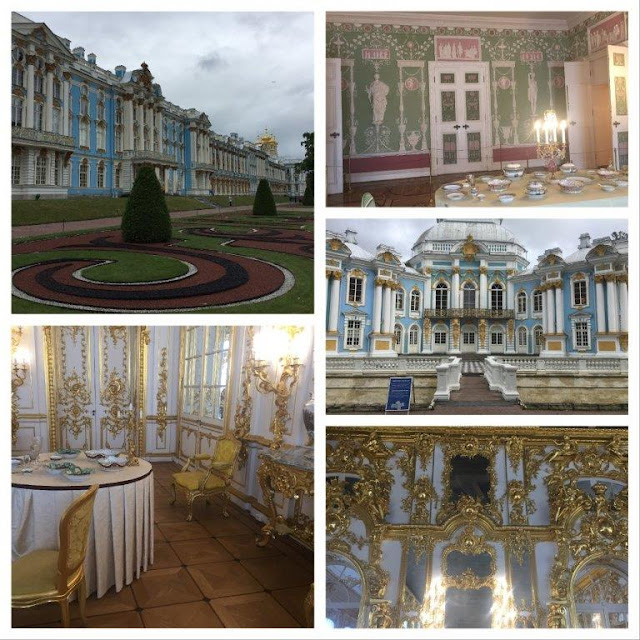 A visit to Catherine Palace