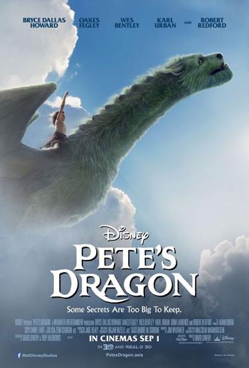 Pete's Dragon 2016 Dual Audio ORG Hindi 480p BluRay 300MB poster
