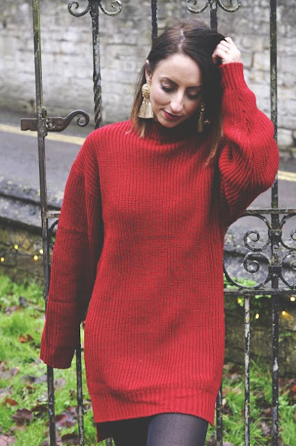 zara earrings, how to style dresses in winter, winter trends 2017, highstreet fashion, fashion trends, how to style thigh high boots