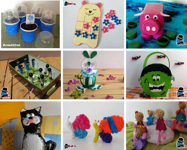 idee creative da realizzare con materiali di riciclo