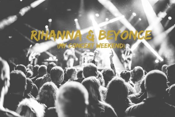 Riri and Bey Concert Weekend photo
