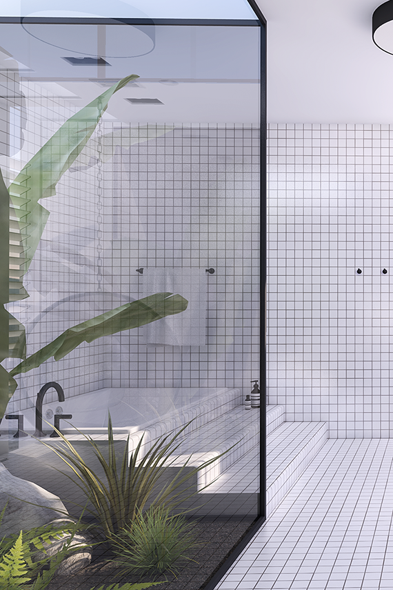 Vosgesparis a must see urban contemporary bathroom with for Modern screen design