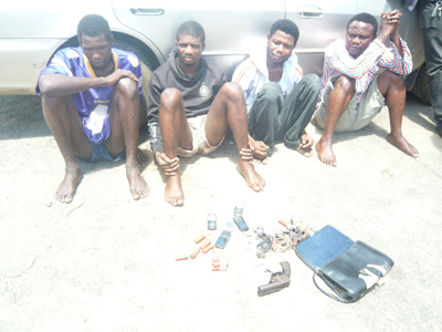 robbers arrested ajah lagos