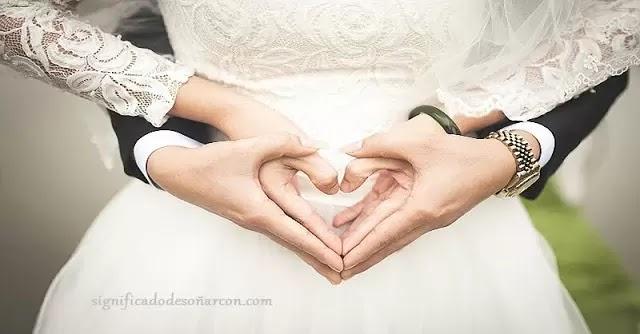 soñar con matrimonios