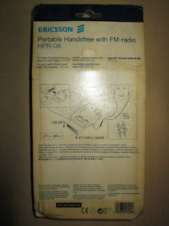 Handsfree Radio Ericsson Jadul R250s Pro HPR-08 Original Packing