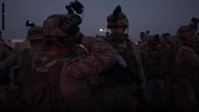 استعداد قوات المارينز لحماية سفارة أمريكا في بغداد