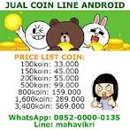 Cara Beli Koin LINE Dengan Pulsa Telkomsel