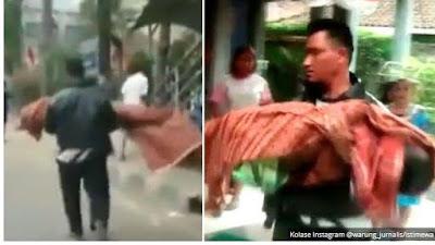 Viral di Media Sosial Pria Gendong Jenazah karena Ambulans Puskesmas Tak Bisa Dipakai, Begini Cerita Lengkapnya