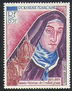 French Polynesia 1973 St Theresa of Lisieux