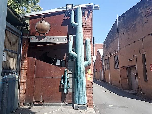 The Cactus Bar in Albury I Albury Public Art