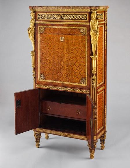 gods and foolish grandeur drop front secretary secr taire abattant or secr taire en armoire. Black Bedroom Furniture Sets. Home Design Ideas