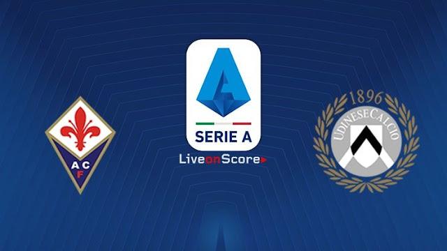 مشاهدة مباراة فيورنتينا وأودينيزي بث مباشر