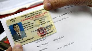 Nhiều thay đổi mới về giấy phép lái xe có hiệu lực từ 01/01/2016