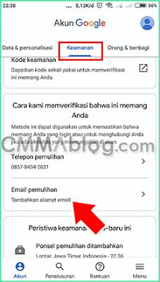 cara membuat akun gmail baru di hp xiaomi