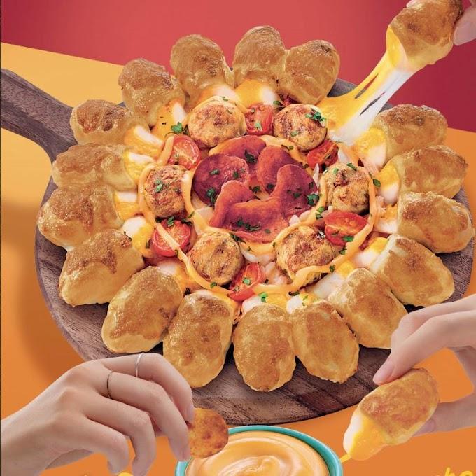 Harga Dan Ulasan Menu Pizza Hut Terbaru - Cheesy Popper Pizza