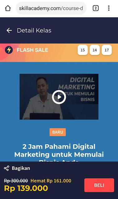 Cara Mudah Belajar Online Digital Marketing