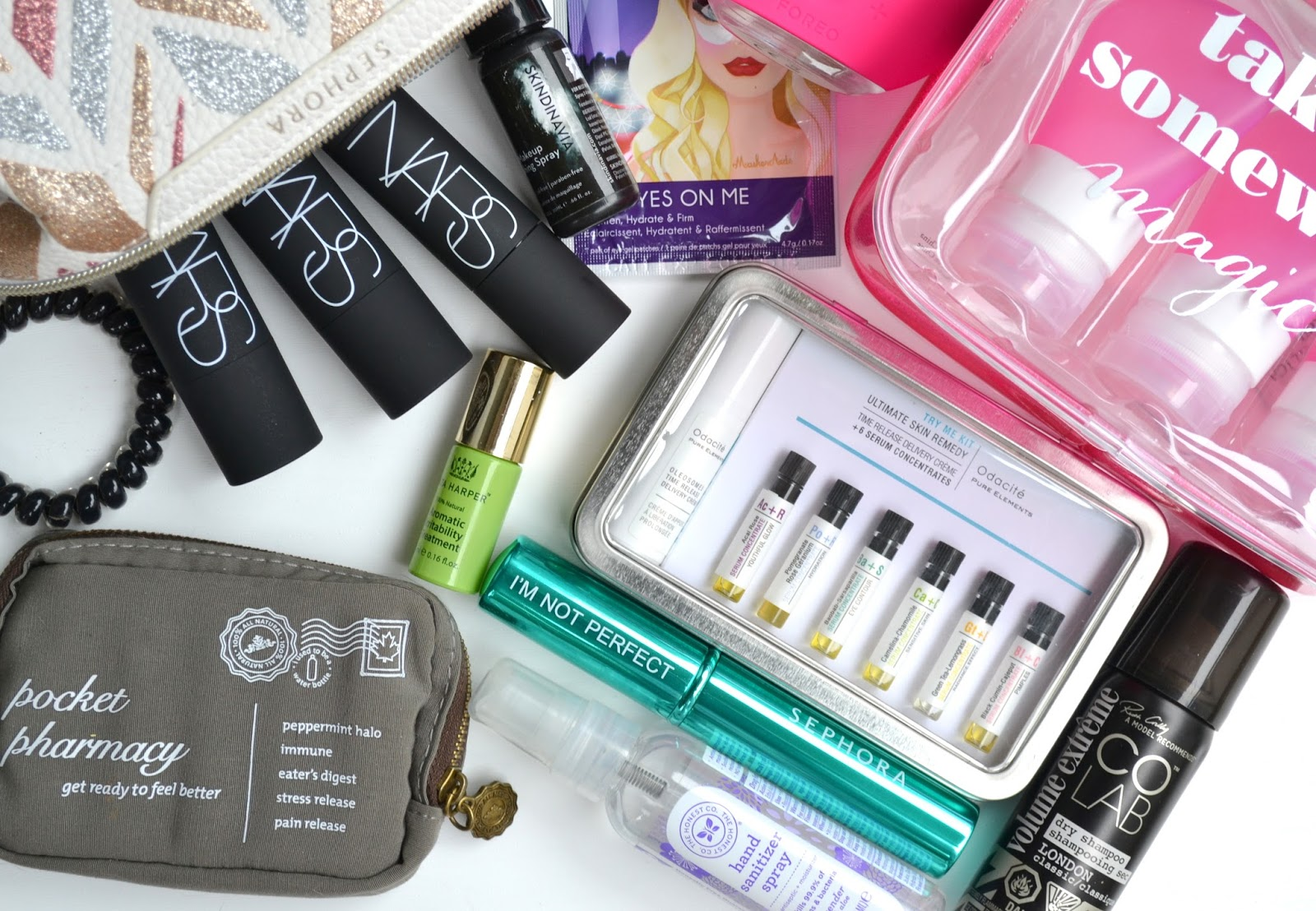 BEAUTY | 13 Travel Essentials | Cosmetic Proof | Vancouver beauty ...