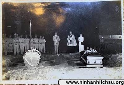 Tang lễ Tổng thống Ngô Đình Diệm và Ngô Đình Nhu năm 1963