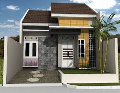 bentuk terbaru rumah sederhana di desa atau kampung
