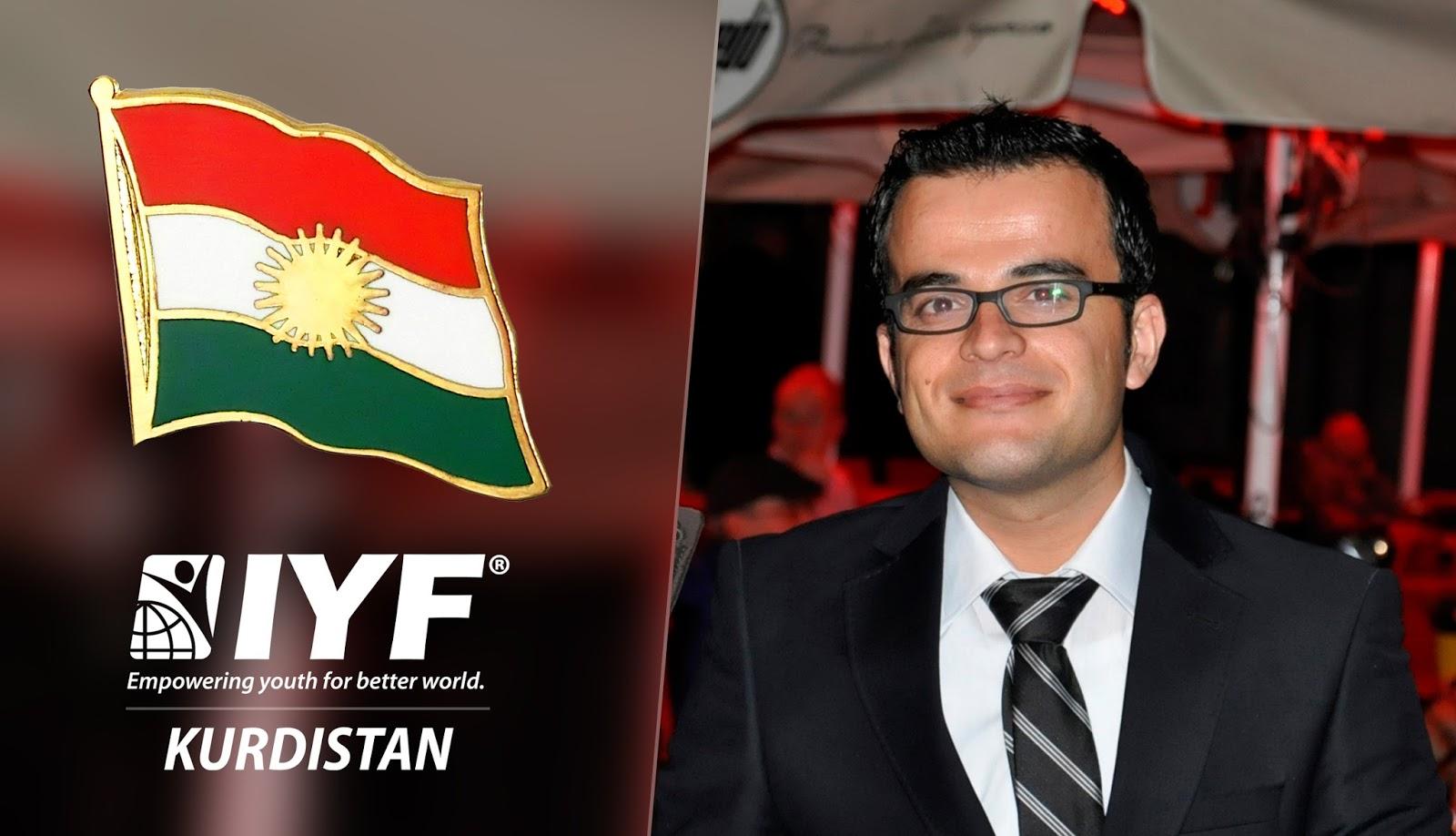 Shkar Nazdar, IYF Special Representative in Iraqi Kurdistan