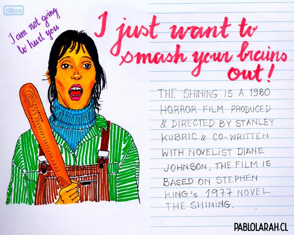 The Shining, Illustration, Pablo Lara H