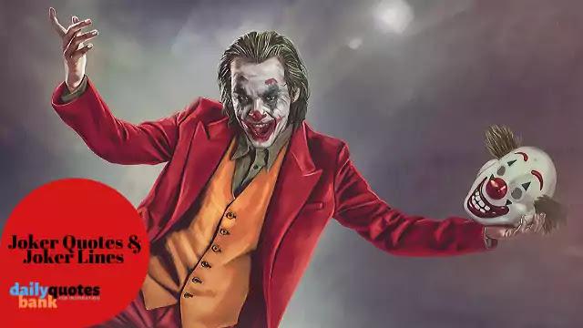Deep Meaningful Joker Quotes That Make Sense