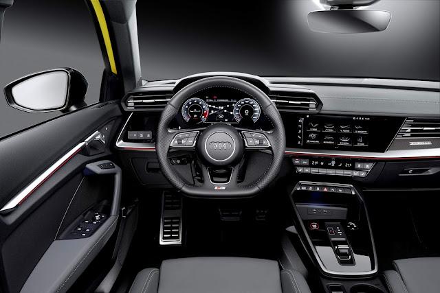 Audi S3 Sportback 2021 - painel