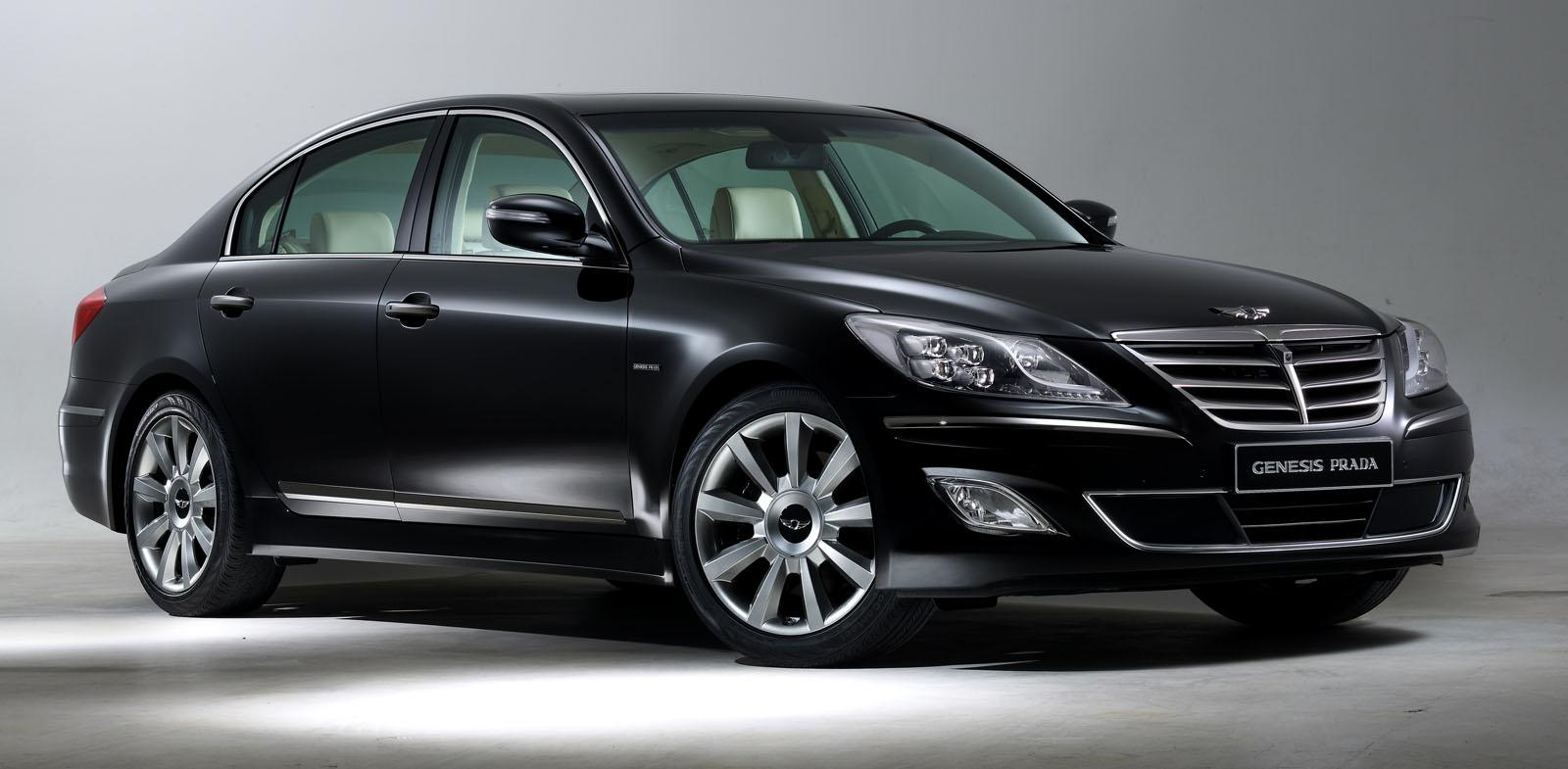 2012 Model New Hyundai Genesis Prada