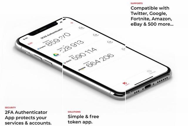 2FA-Authenticator-2FAS - أفضل تطبيقات الخصوصية والحماية للايفون وآيباد