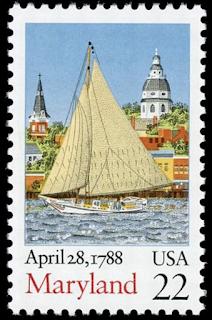 Maryland Statehood USA 22 Cent