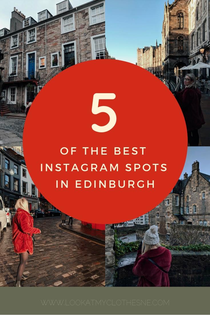 The Five Best Instagram Spots In Edinburgh